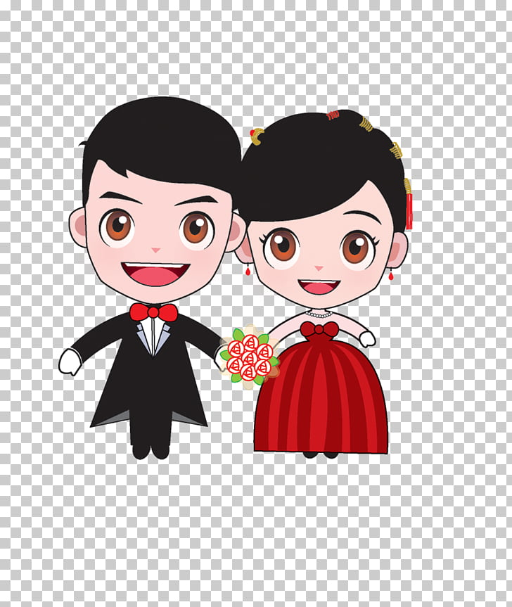 bridegroom marriage cartoon wedding cartoon bride and groom
